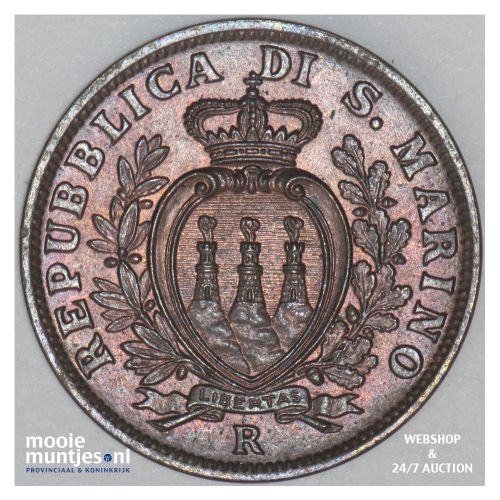 5 centesimi - San Marino 1936 (KM 12) (kant B)