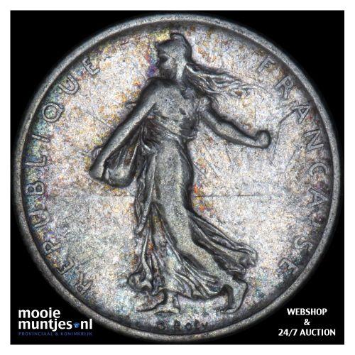 franc - France 1910 (KM 844.1) (kant B)