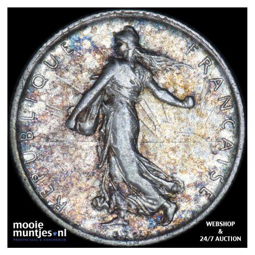 franc - France 1911 (KM 844.1) (kant B)