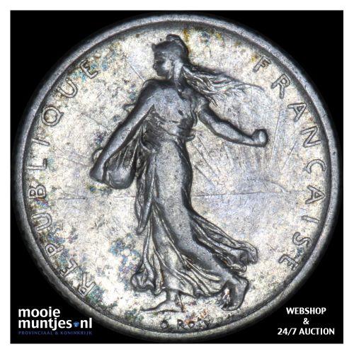 franc - France 1912 (KM 844.1) (kant B)