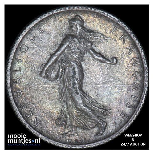 franc - France 1913 (KM 844.1) (kant B)