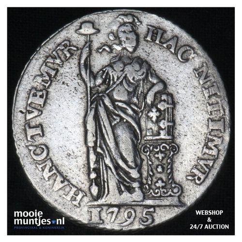 Holland - 1 gulden - 1795 (kant A)