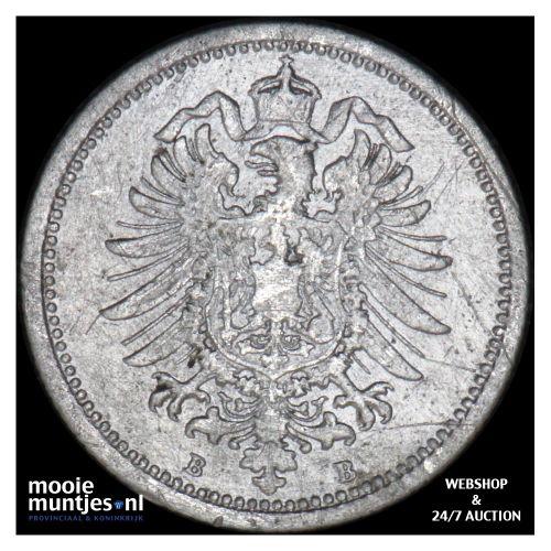 20 pfennig - Germany 1874 B (KM 5) (kant B)