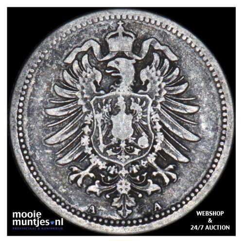 20 pfennig - Germany 1874 A (KM 5) (kant B)