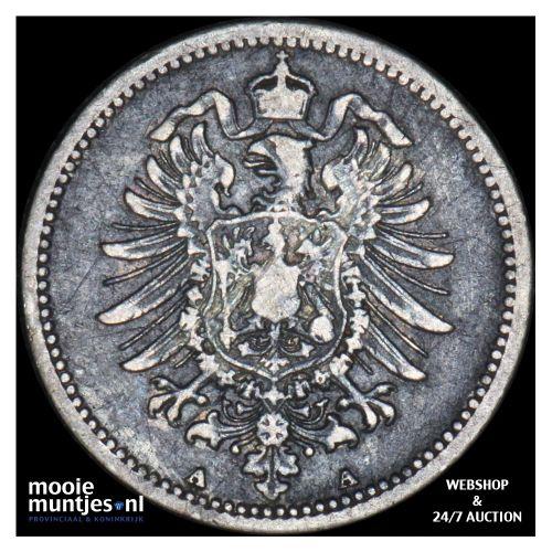 20 pfennig - Germany 1875 A (KM 5) (kant B)