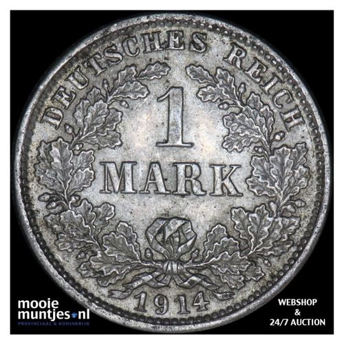 mark - Germany 1914 D (KM 14) (kant A)