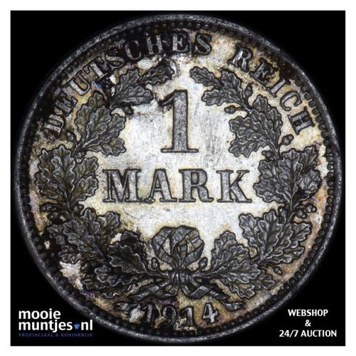 mark - Germany 1914 E (KM 14) (kant A)