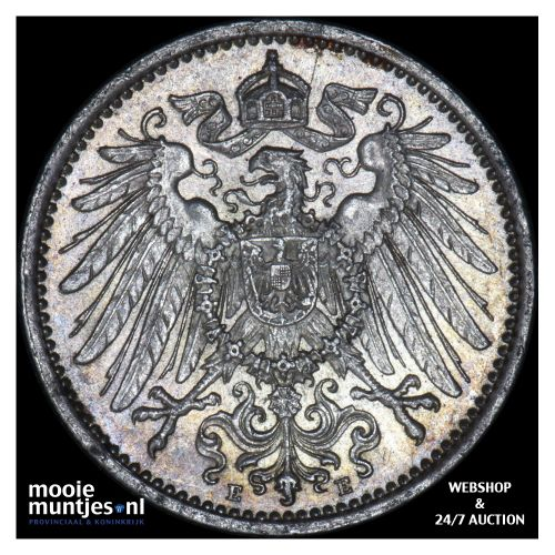 mark - Germany 1914 E (KM 14) (kant B)