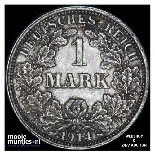 mark - Germany 1914 F (KM 14) (kant A)