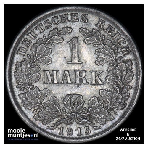 mark - Germany 1915 D (KM 14) (kant A)
