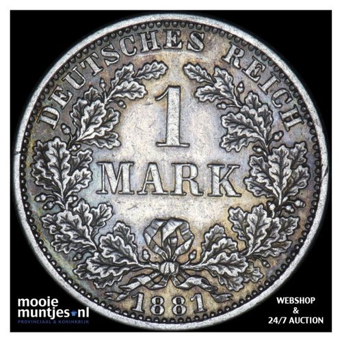 mark - Germany 1881 A (KM 14) (kant A)