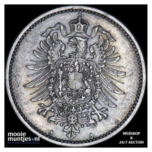 mark - Germany 1881 A (KM 14) (kant B)