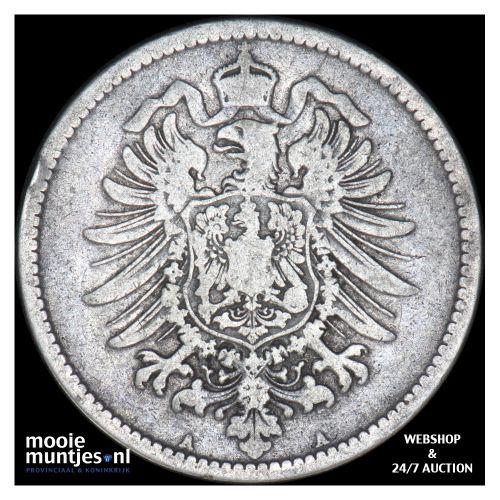 mark - Germany 1875 A (KM 14) (kant B)