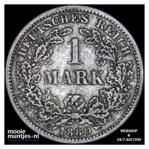 mark - Germany 1880 F (KM 14) (kant A)