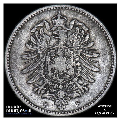 mark - Germany 1880 F (KM 14) (kant B)