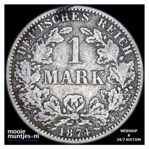 mark - Germany 1874 A (KM 14) (kant A)