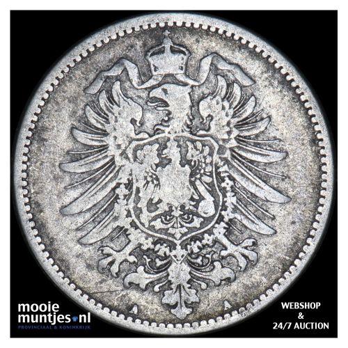 mark - Germany 1874 A (KM 14) (kant B)