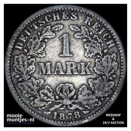 mark - Germany 1878 G (KM 14) (kant A)