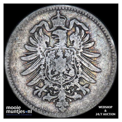 mark - Germany 1878 G (KM 14) (kant B)