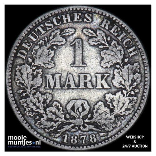 mark - Germany 1878 B (KM 14) (kant A)