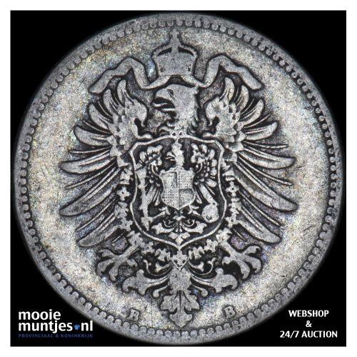 mark - Germany 1878 B (KM 14) (kant B)