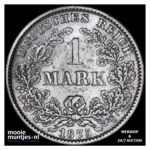 mark - Germany 1875 C (KM 14) (kant A)