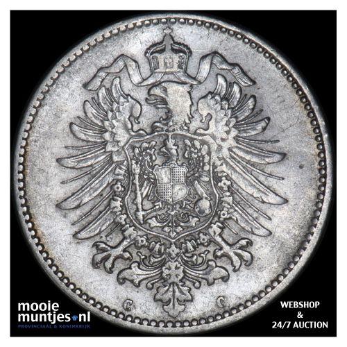 mark - Germany 1875 C (KM 14) (kant B)