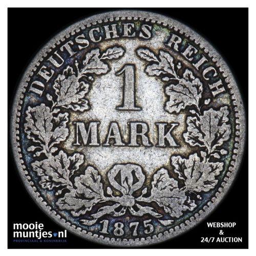 mark - Germany 1875 A (KM 14) (kant A)