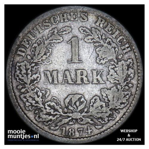 mark - Germany 1874 D (KM 14) (kant A)