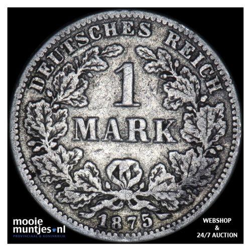 mark - Germany 1875 G (KM 14) (kant A)