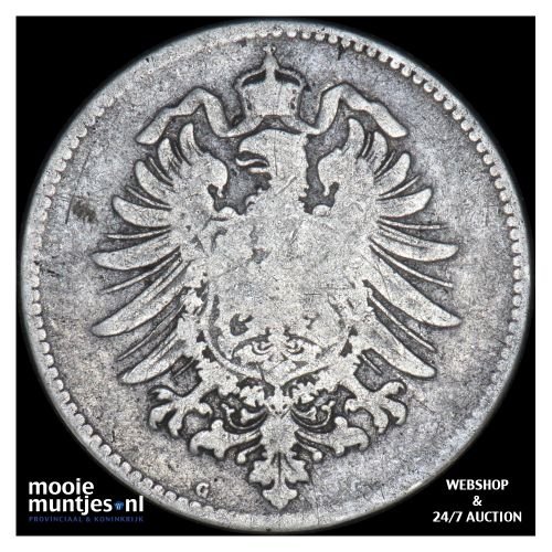 mark - Germany 1875 G (KM 14) (kant B)