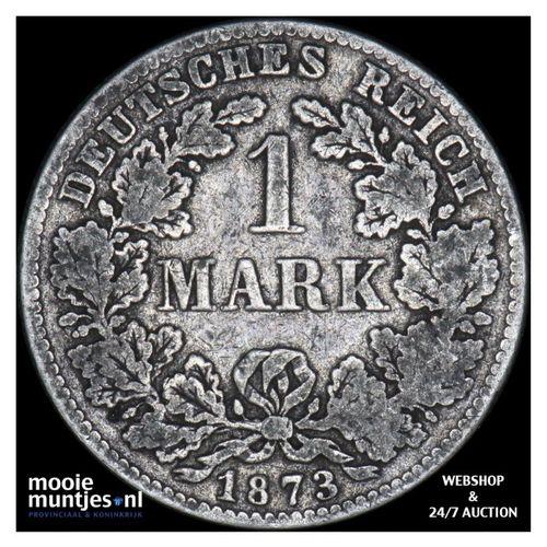 mark - Germany 1873 D (KM 14) (kant A)