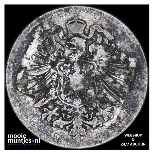 mark - Germany 1873 D (KM 14) (kant B)