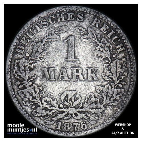 mark - Germany 1876 C (KM 14) (kant A)