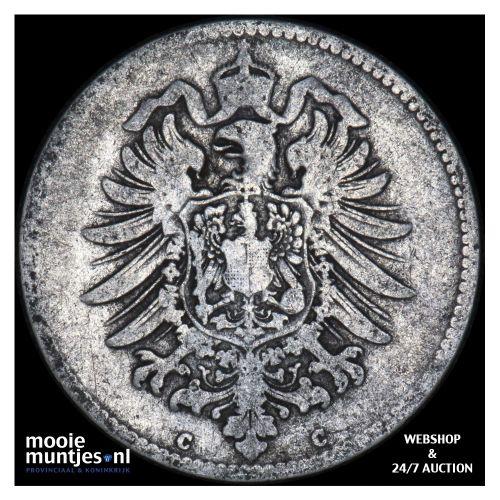 mark - Germany 1876 C (KM 14) (kant B)
