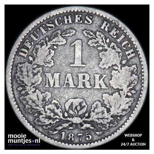 mark - Germany 1875 F (KM 14) (kant A)