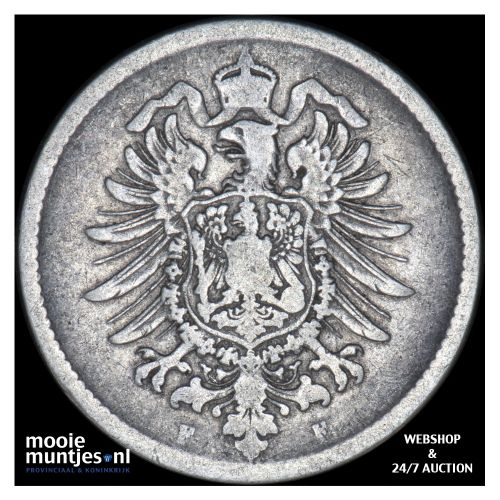 mark - Germany 1875 F (KM 14) (kant B)