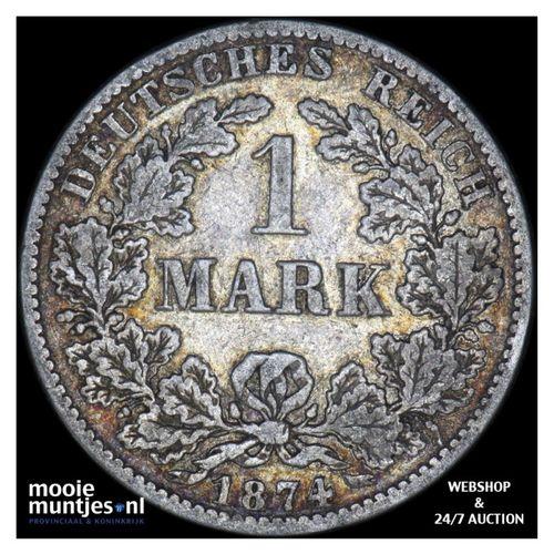 mark - Germany 1874 B (KM 14) (kant A)