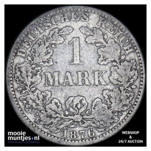mark - Germany 1876 A (KM 14) (kant A)