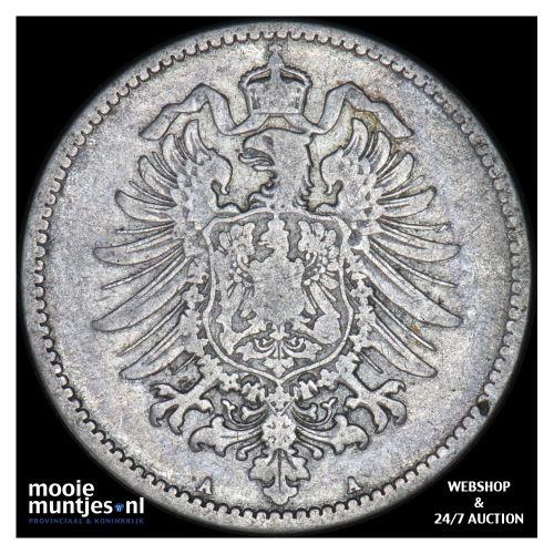 mark - Germany 1876 A (KM 14) (kant B)