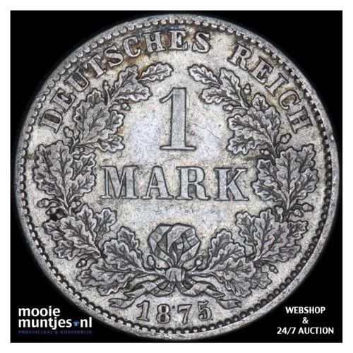 mark - Germany 1875 D (KM 14) (kant A)