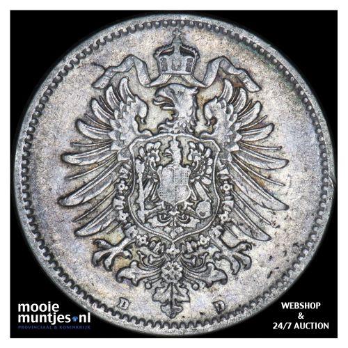 mark - Germany 1875 D (KM 14) (kant B)