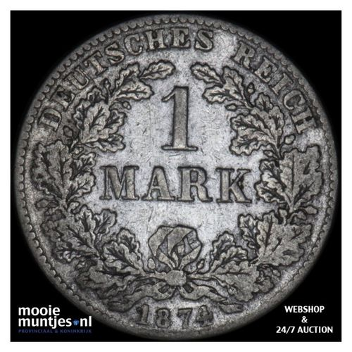 mark - Germany 1874 G (KM 14) (kant A)