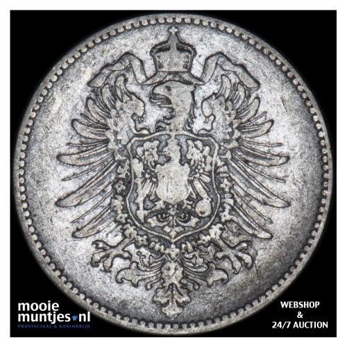 mark - Germany 1874 G (KM 14) (kant B)