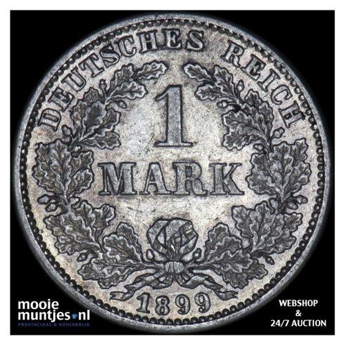 mark - Germany 1899 G (KM 14) (kant A)