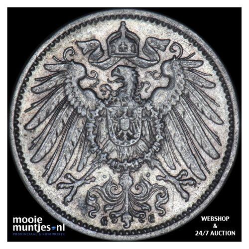 mark - Germany 1899 G (KM 14) (kant B)