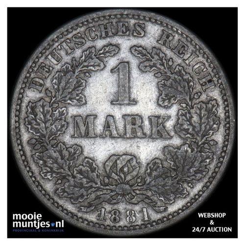 mark - Germany 1881 D (KM 14) (kant A)