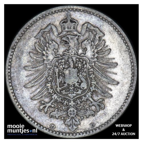 mark - Germany 1881 D (KM 14) (kant B)