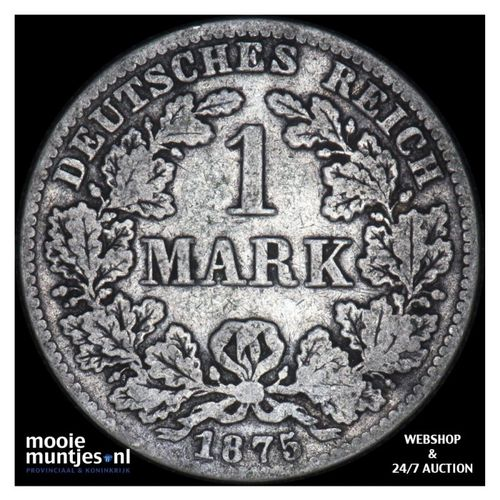 mark - Germany 1875 B (KM 14) (kant A)