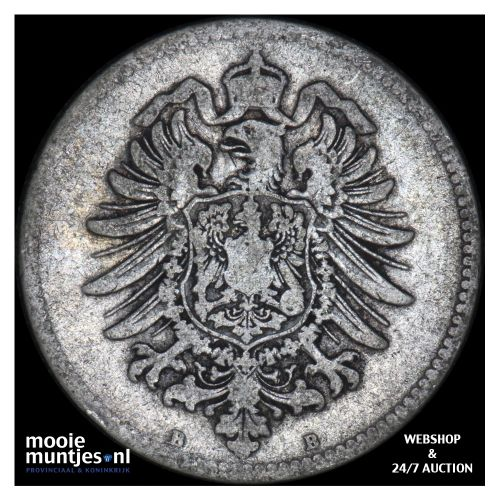 mark - Germany 1875 B (KM 14) (kant B)